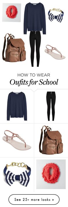 """school outfit"" by savannahgibbs09 on Polyvore featuring moda, MANGO, American Eagle Outfitters, Brooks Brothers, IPANEMA y H&M"