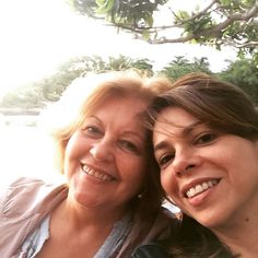 Final de semana especial com ela @mariadocarmofarah
