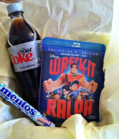 Movie-themed gift basket ideas (Wreck-It Ralph!)