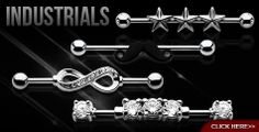If you're looking for a reliable source of body jewelry and piercing supplies, make sure to contact us for the best products, prices, and product assortments. Awesome Tattoos, Cool Tattoos, Body Jewelry, Jewlery, Industrial Barbell, Bling Bling, Infinity, Piercings, Hair Makeup