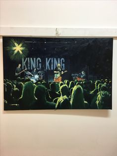 King King, oil on canvas.