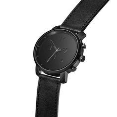 Chrono Black Leather – MVMT Watches