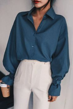 ideas for minimalist fashion women inspiration Fashion Mode, Look Fashion, Korean Fashion, Womens Fashion, High Fashion, Fashion Fall, Boho Vintage, Looks Vintage, Vintage Grunge