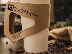 CupToMug. CupToMug modifies a traditional paper cup into a convenient modern mug.