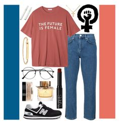 """""""EQUALITY"""" by savannahrstyle ❤ liked on Polyvore featuring Victoria, Victoria Beckham, StyleNanda, New Balance, A.P.C., NARS Cosmetics, Burberry and Chanel"""
