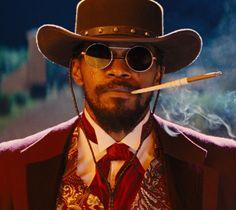"""Jamie Foxx en""""Django desencadenado"""" (Django Unchained), 2012"""