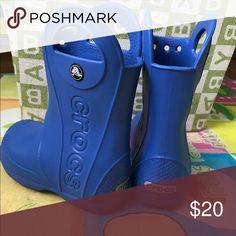 Crocs rain boots Sz.10 New without box CROCS Shoes Rain & Snow Boots