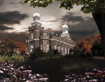 """Logan Temple from the """"Light in the Storm"""" series"""