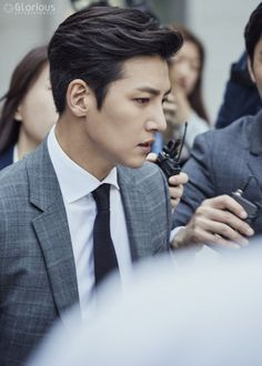 "[Drama] Even more behind-scenes photos of Ji Chang Wook in ""Suspicious Partner"" Korean Men Hairstyle, Mens Perm, Oppa Gangnam Style, Asian Haircut, Suspicious Partner, Asian Celebrities, Kdrama Actors, Ji Chang Wook, Haircuts For Men"