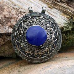 Beautiful Afghan pendant by look4treasures on Etsy, $28.95