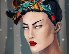 """Check out new work on my @Behance portfolio: """"Scarf"""" http://be.net/gallery/33640717/Scarf"""