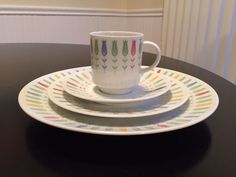 Sears Harmony House Coquette Pattern 16 pc Dinner Place Setting