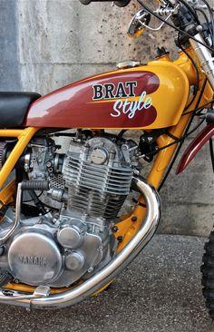 SR400 VMX: latest build by Brat Style - Japan