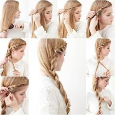 cool 15 Pretty And Easy To Make Hairstyle Tutorials, #braided hairstyles for long hair #Braided Wedding Hairstyles Models #Hairsyyle 2015 #Long Hairstyle Models,Night Hairstyle models
