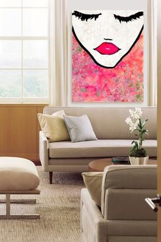 Oliver Gal Flower Coveted Canvas Art by Oliver Gal Gallery on @HauteLook