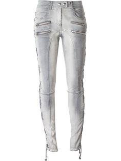 FAITH CONNEXION lace-up side distressed jeans. #faithconnexion #cloth #系带边仿旧牛仔裤