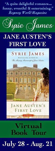 MY JANE AUSTEN BOOK CLUB: BOOK REVIEW - JANE AUSTEN'S FIRST LOVE BY SYRIE JAMES