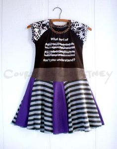 Awesome dress for music lovers!