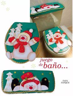 muñecos navidad para Christmas In July, Christmas Snowman, Christmas Stockings, Christmas Crafts, Xmas, Christmas Ornaments, Felt Christmas Decorations, Christmas Fabric, Christmas Bathroom Sets