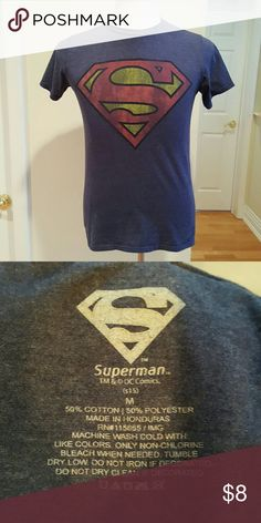 Superman tee 🦄Excellent condition unknown  Shirts Tees - Short Sleeve