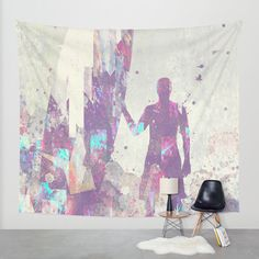 Explorers III Wall Tapestry by HappyMelvin | Society6