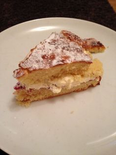 Delicious Victoria sponge, can't beat an old classic