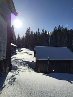 Gammel bebyggelse på Haus Schasen