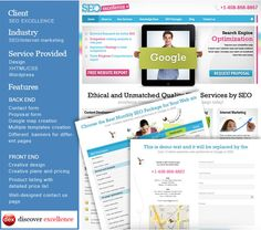 """Some amazing SEO Friendly template design for client """"SEO Excellence"""" seoexcellenceonline.com"""