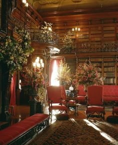 The Library at Biltmore.