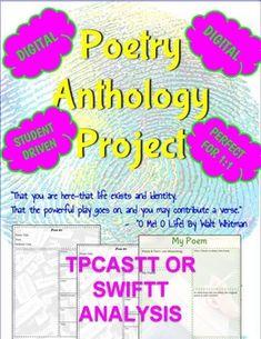 Digital Poetry Analysis & Anthology Project (Google Drive) Digital Poetry, Poetry Unit, English Class, Google Classroom, My Teacher, School Days, Google Drive, Language Arts, Poems