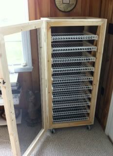 The Soap Making Forum • View topic - My new soap curing cabinet!