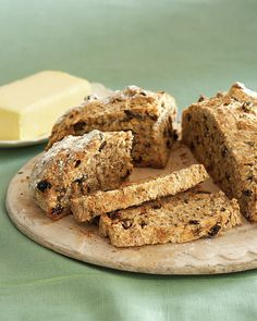 Irish Soda Bread - Martha Stewart Recipes - this one is loaded with caraway seeds and currants