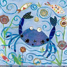Oopsy Daisy Blue Crab