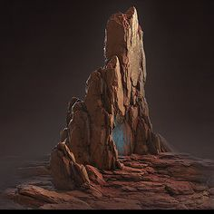 Red Rocks, Jonas Ronnegard on ArtStation at https://www.artstation.com/artwork/red-rocks-e92302b1-ef1d-45f1-b476-4dde7f6e349d