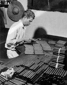 Cigar Factory In Jamaica 1951