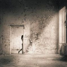 """Artist John Donica; Photography, """"Nude in Ruins"""""""