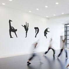 Modern Dance STYLE 2- Wall Stickers by Cool Art Vinyl Modern Dance, Dance Fashion, Wall Stickers, Cool Art, Cool Stuff, Chloe, Decor, Style, Wall Clings