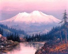 Mount Shasta, California by William S. Parrott.