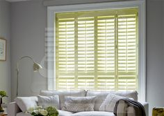 The Shutter World classic, innovative design, light to work with, the most popular of all our ranges. Old Shutters Decor, Outside Shutters, Kitchen Shutters, Farmhouse Shutters, Shutter Decor, Interior Window Shutters, Wooden Shutters, Shutter Projects, Large Windows