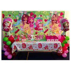 NoStressEvents's Birthday / Strawberry Shortcake - Photo Gallery at Catch My Party Birthday Parties, Birthday Cake, Birthday Ideas, Chef Cake, Strawberry Shortcake Birthday, Baby Items, Birthday Candles, Handmade Gifts, Etsy