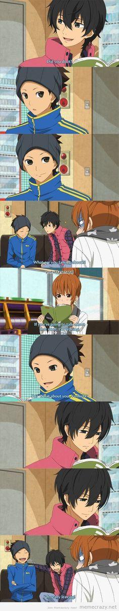 funny anime scene