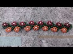 YouTube More Daisy Chain (with vine) ~ Seed Bead Tutorials