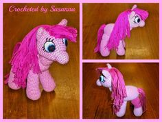 Crochet My Little Pony ♥ Virkad My Little Pony ♥ Crocheted by Susanna