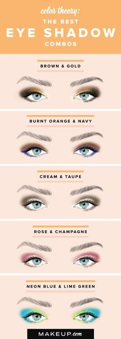 Doing pretty eye shadow doesn't have to be complicated! We have pretty eye shadow color duos that look great and that are simple to do if you want an easy eye makeup look!