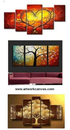 Non-woven Frameless Abstract Canvas Print Art Oil Painting Wall Picture Decor sf