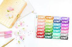 Bill Due & Bill Pay Planner Stickers // Erin Condren Life Planner Plum Paper Planner Kikki K Filofax Happy Planner Finance Stickers