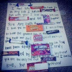 Candy cards
