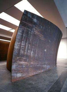 Richard Serra, Blind Spot (2002-03), via Artsy.net