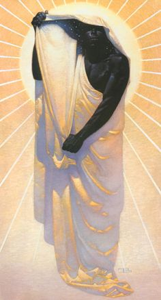 Thomas Blackshear | African-American Visionary painter | Night In Day