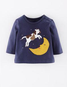 Nursery Rhyme Appliqué T-shirt